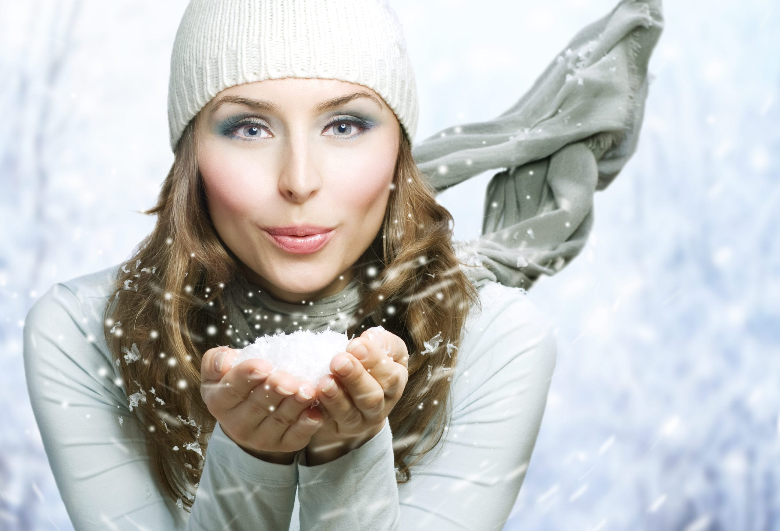 how to avoid dry nose in winter